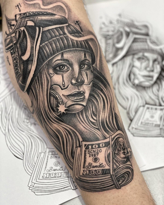 junior-banda-tattoo-chicano-girl-arm