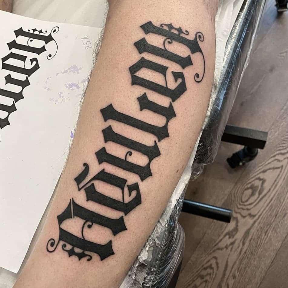 ambigram-lost-world-tattoo