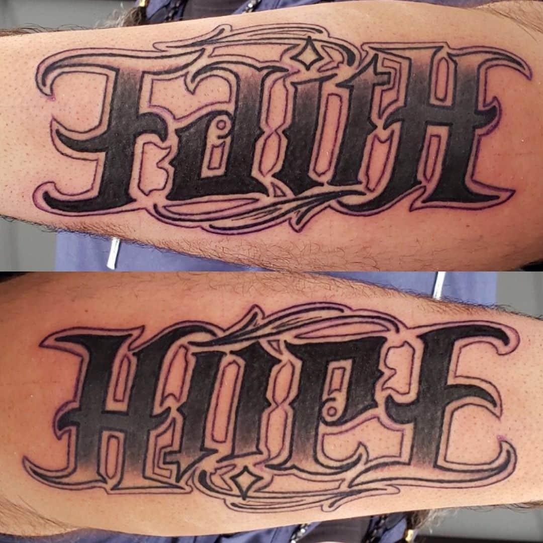 ambigram-tattoo-arm