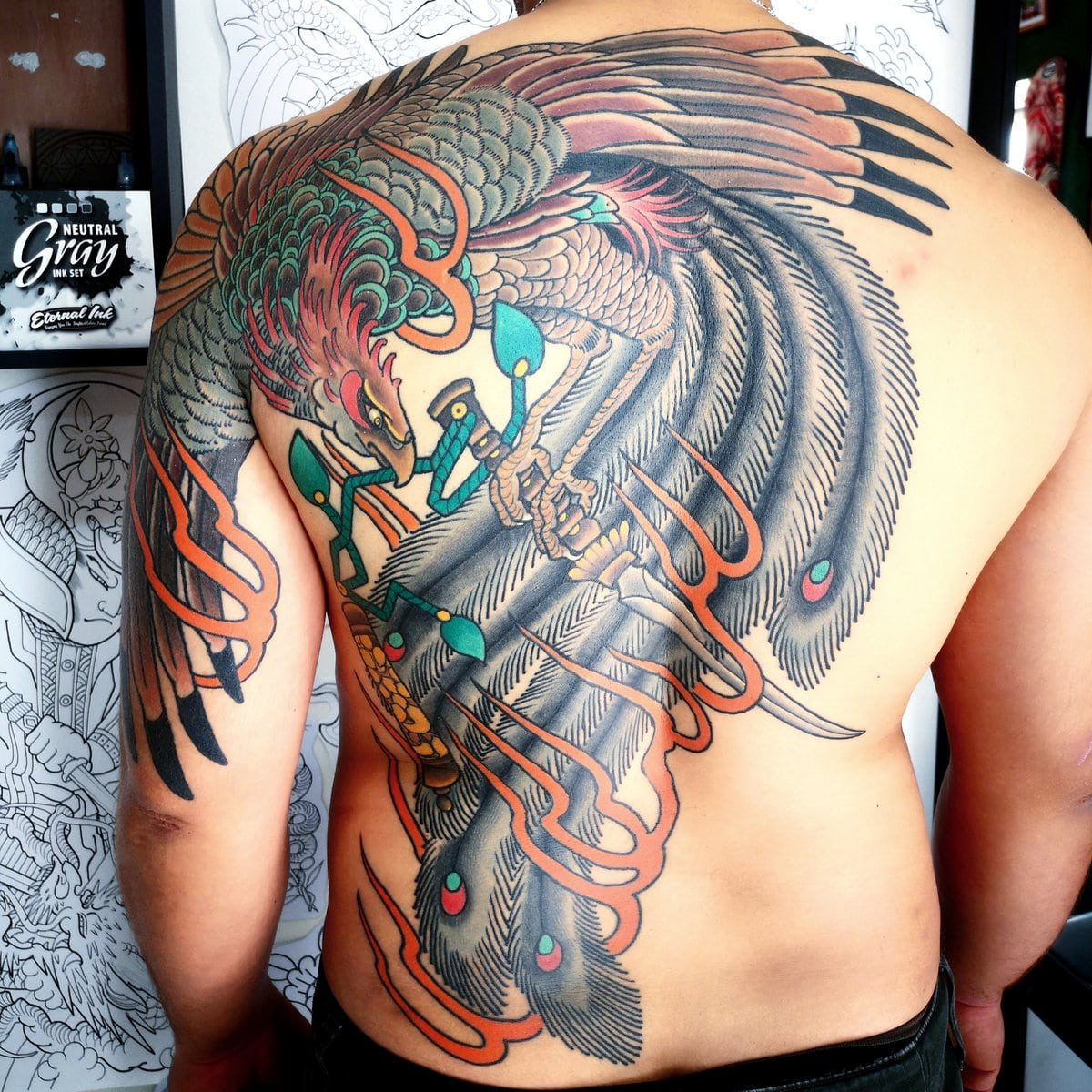 ghis-melou-tattoo-neotraditional-back-color