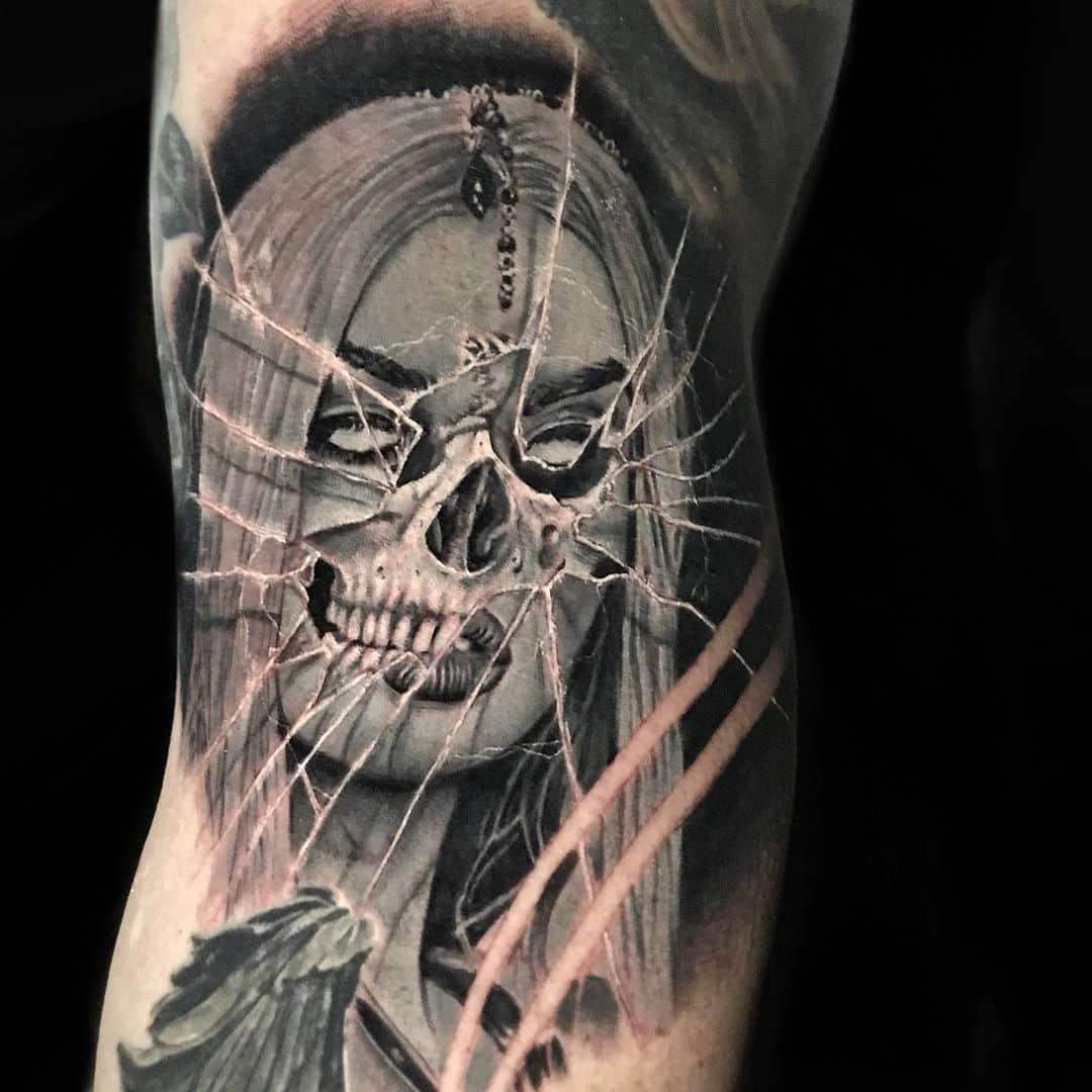 broken-glass-tatto-style