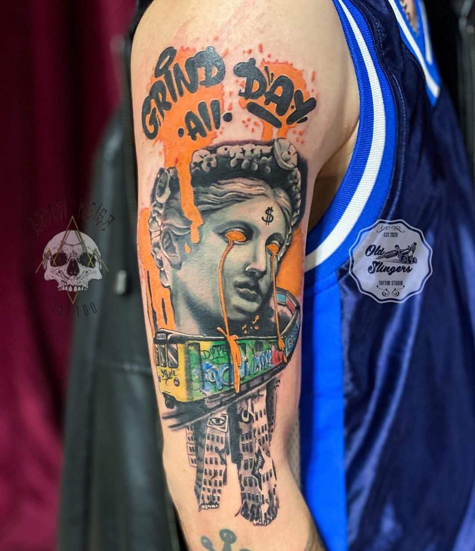 graffiti-tattoo-arm