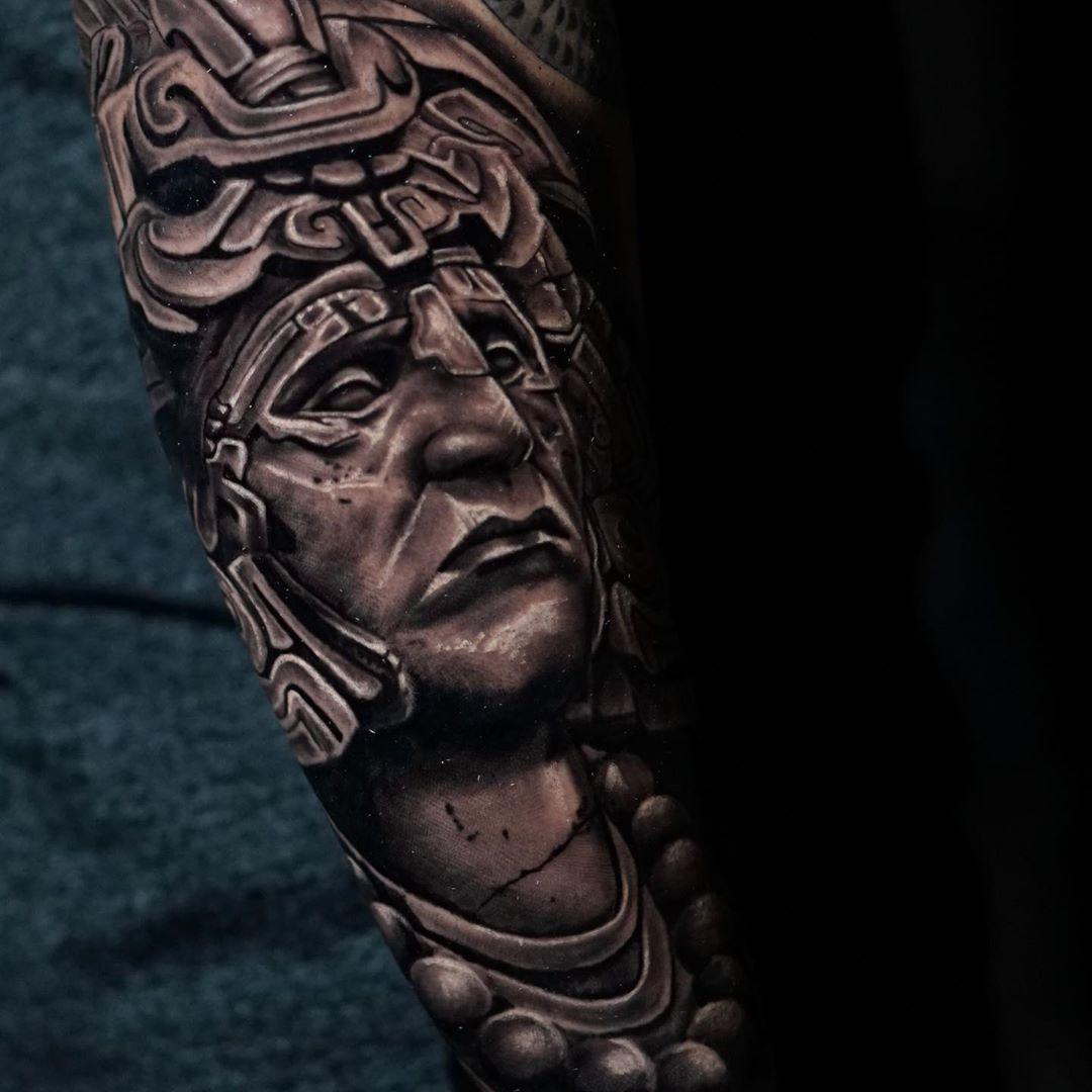 mayan-tattoo-style