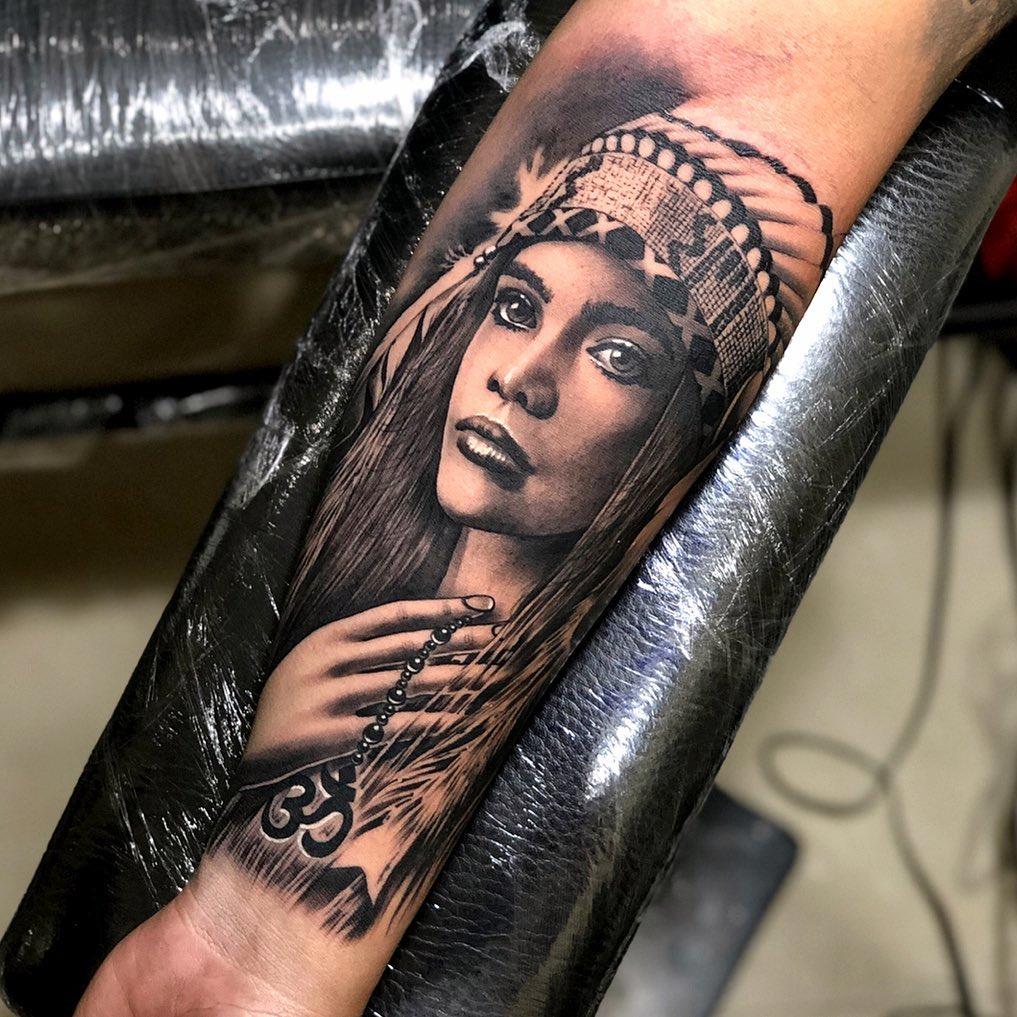 native-american-tattoo-style