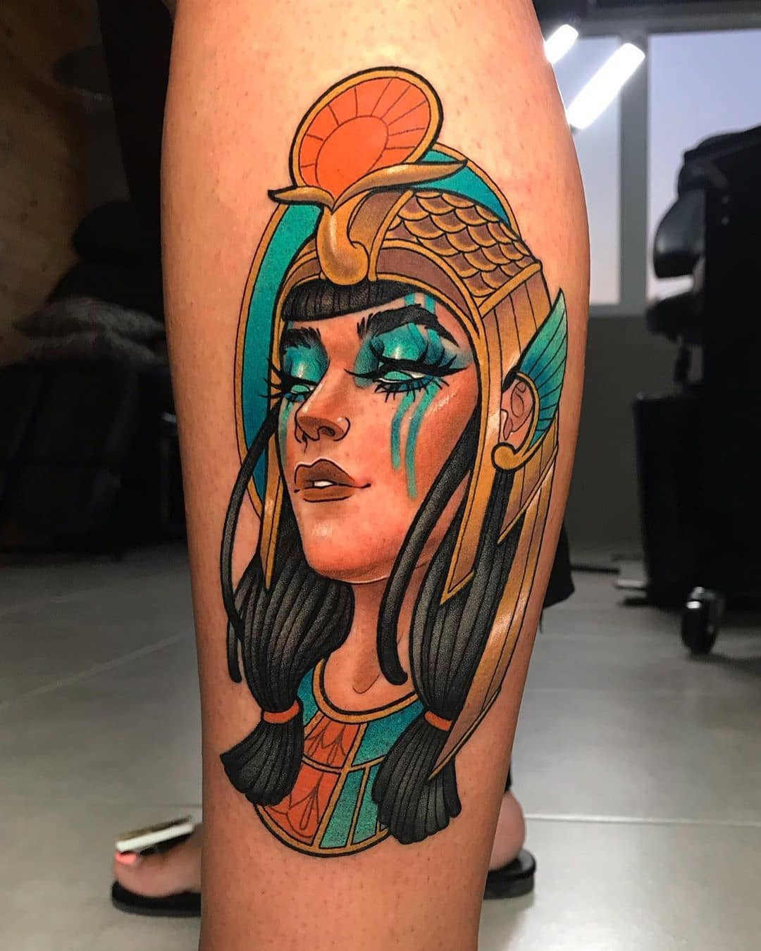 neo-traditional-tattoo-style