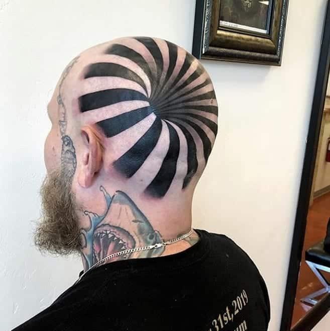 optical-illusion-tattoo-style-head