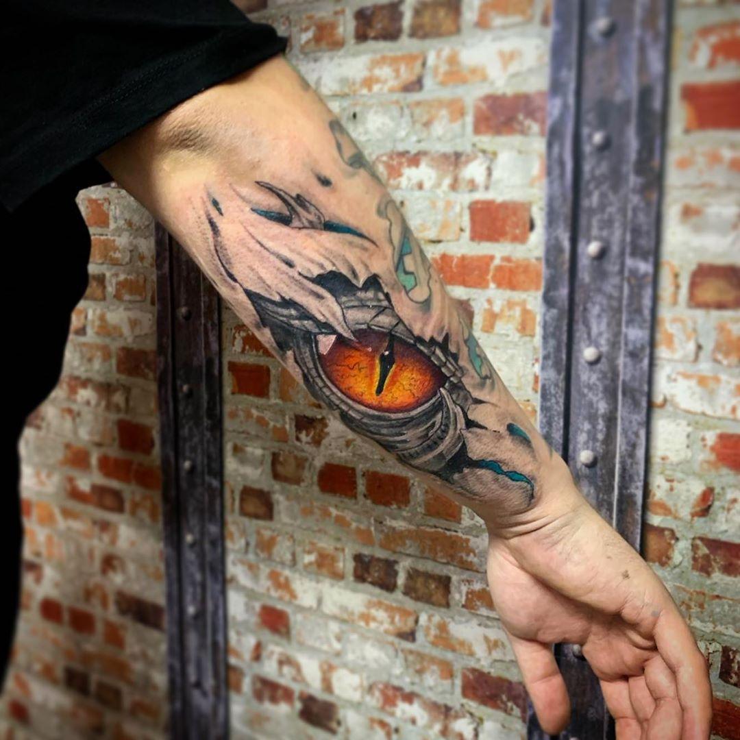 ripped-skin-tattoo-style