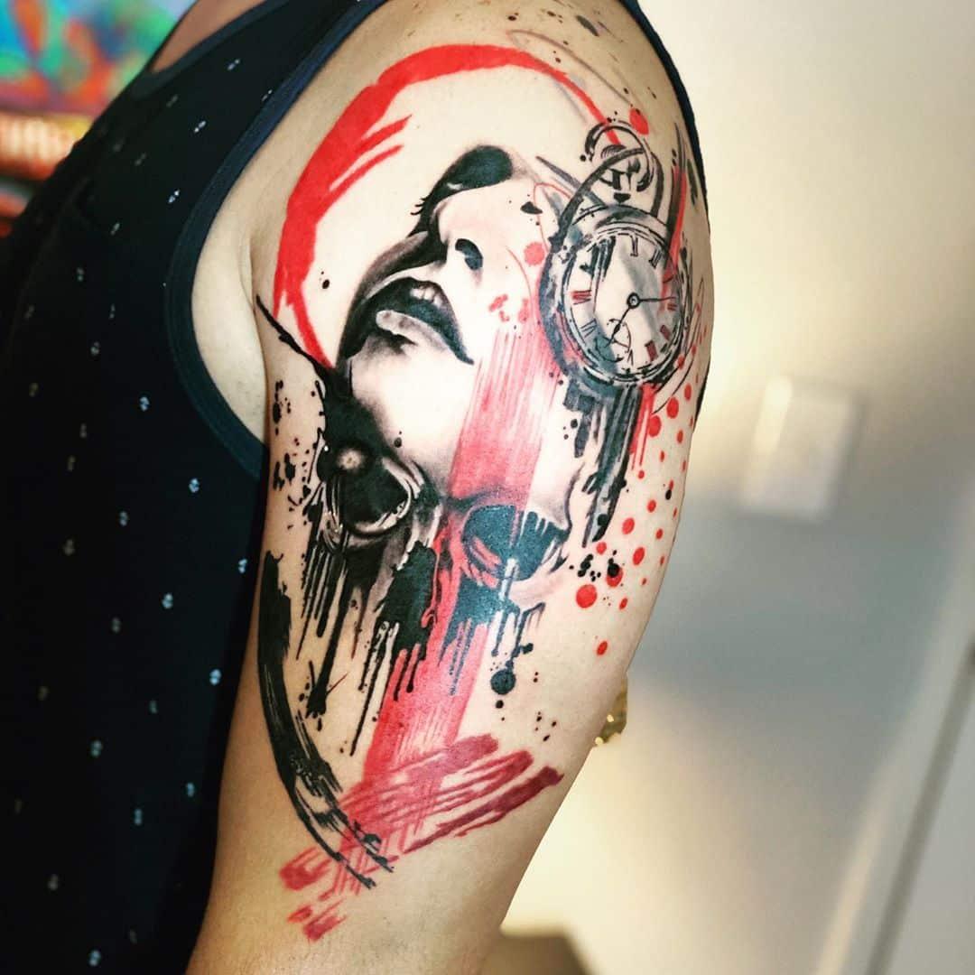 trash-polka-tattoo-style-shoulder
