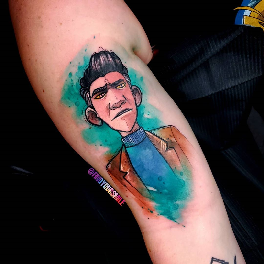 watercolor-tattoo-style-man
