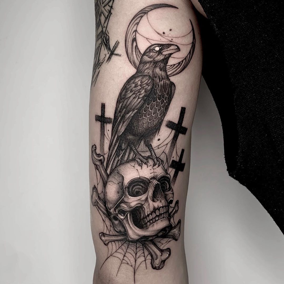 crow-tattoo-meaning