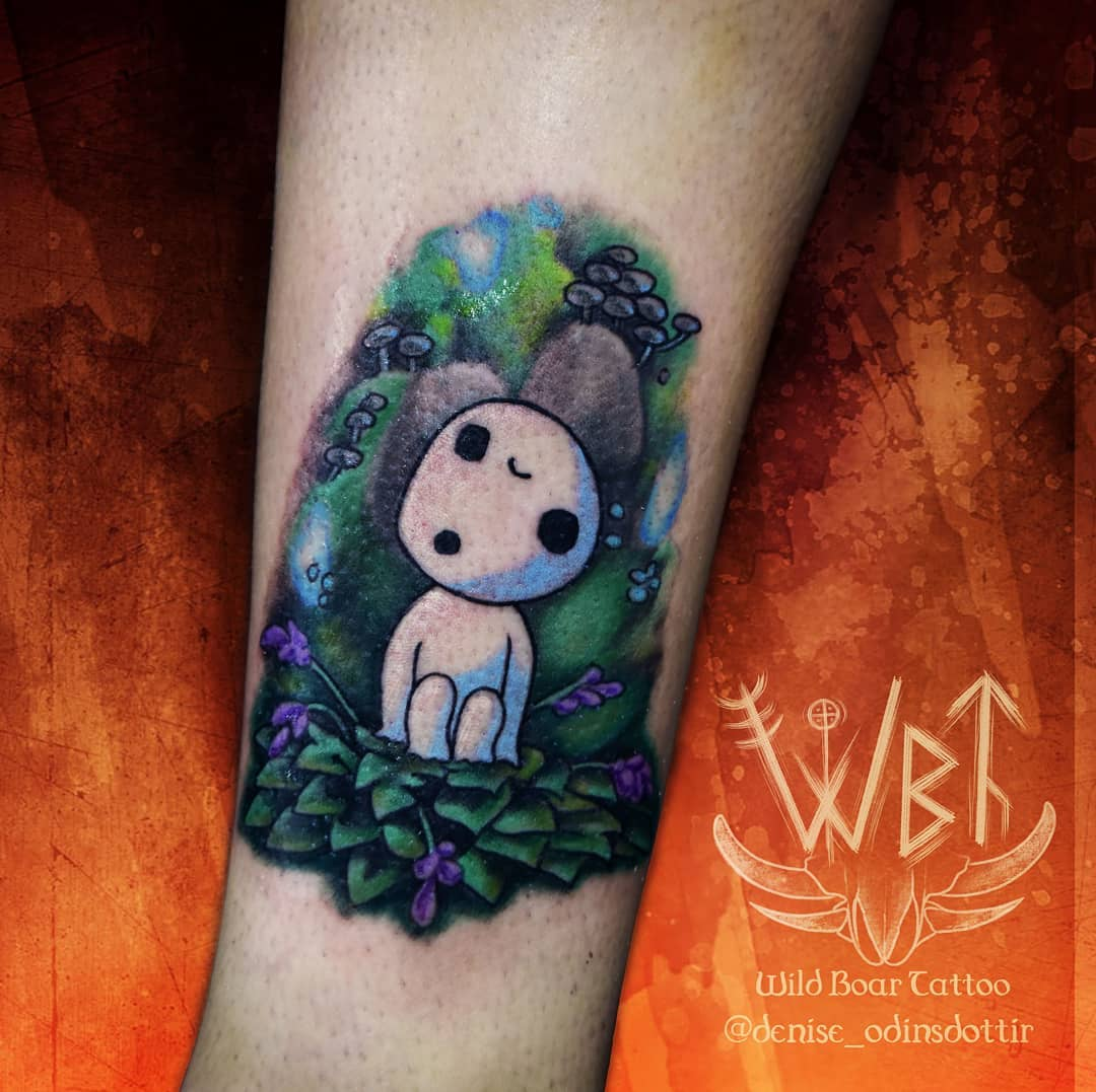 kodama-tattoo-colored