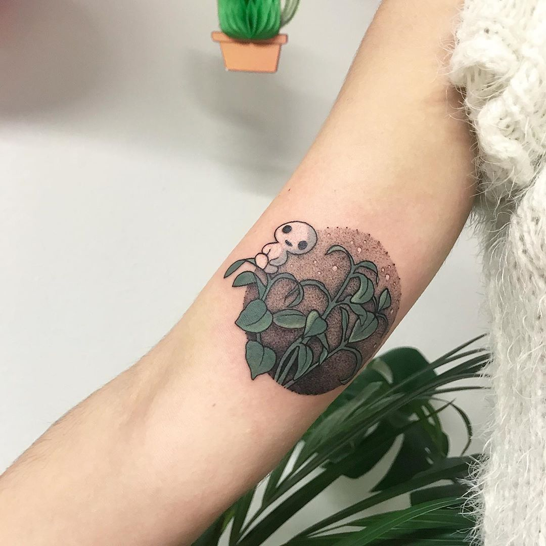 kodama-tattoo-with-plant