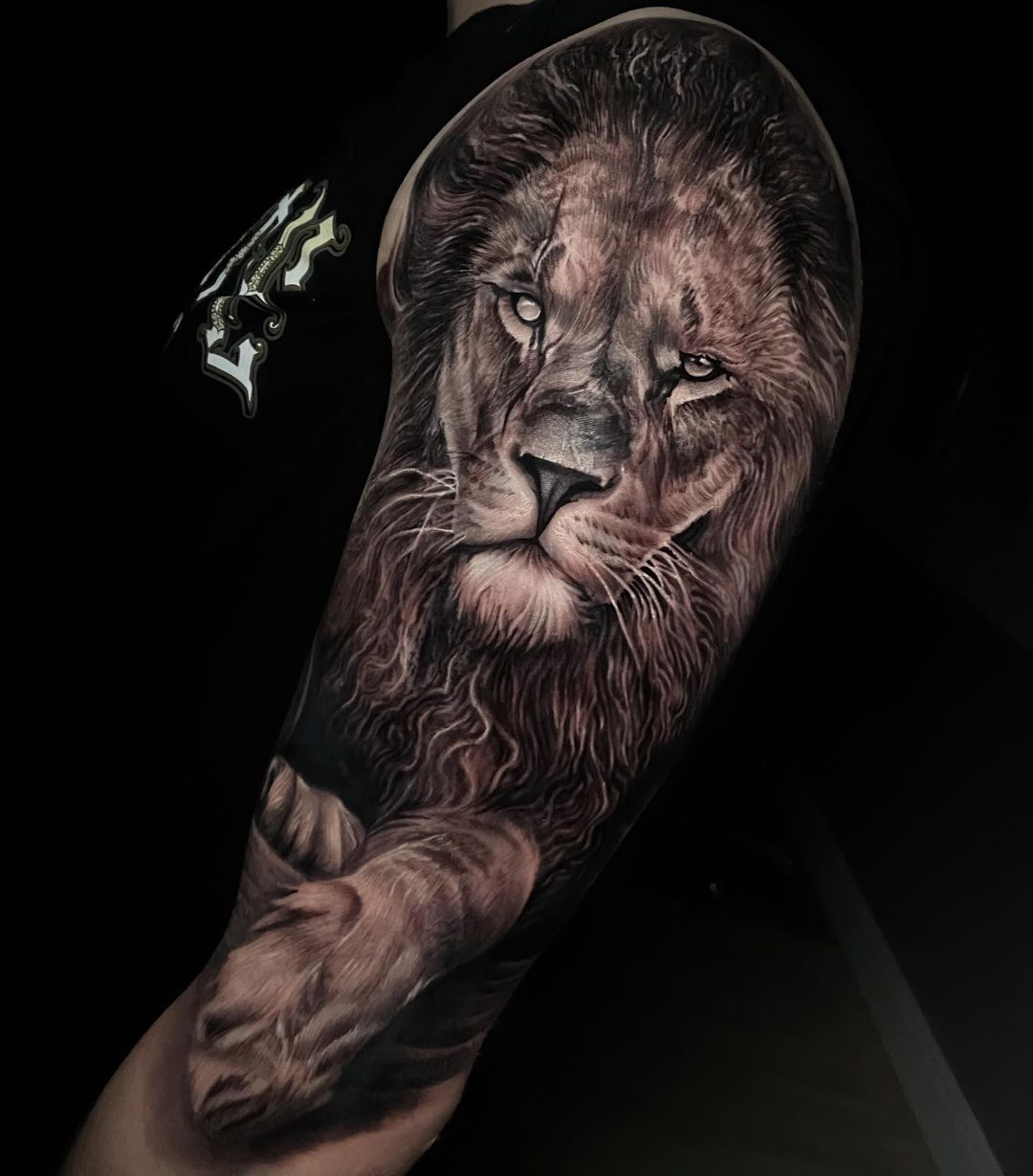 lion-tattoo-meaning