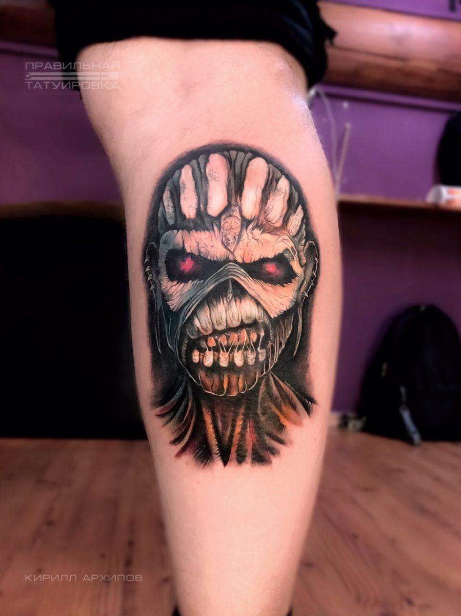 kirill-tattoo-artist-eddie-iron-maiden