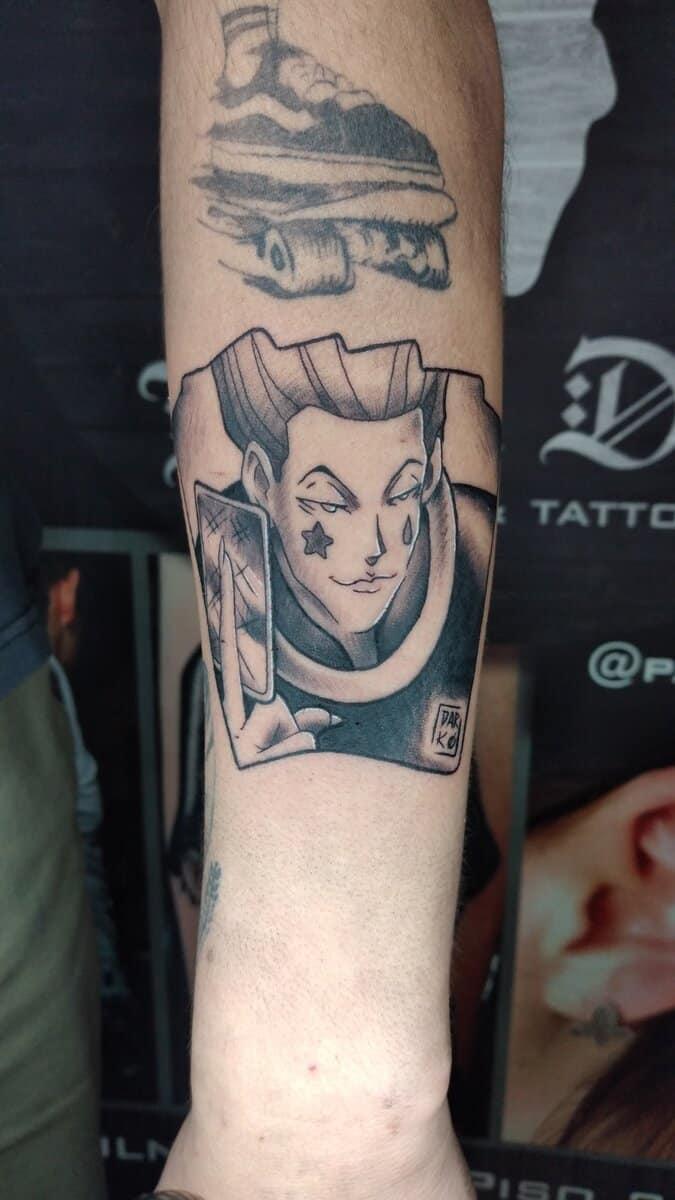 paulette darko tattoo artist manga anime
