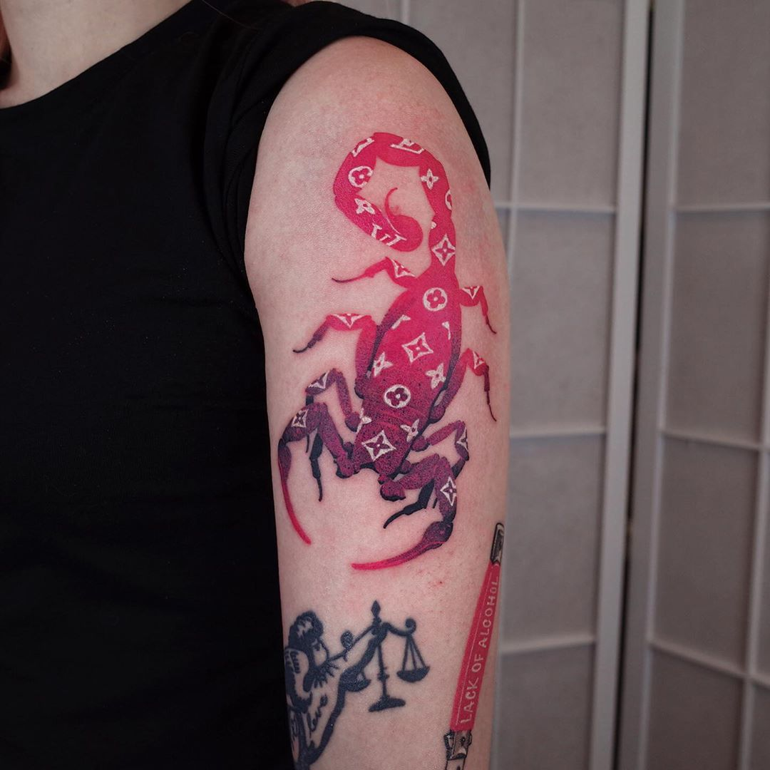 scorpion-tattoo-meaning