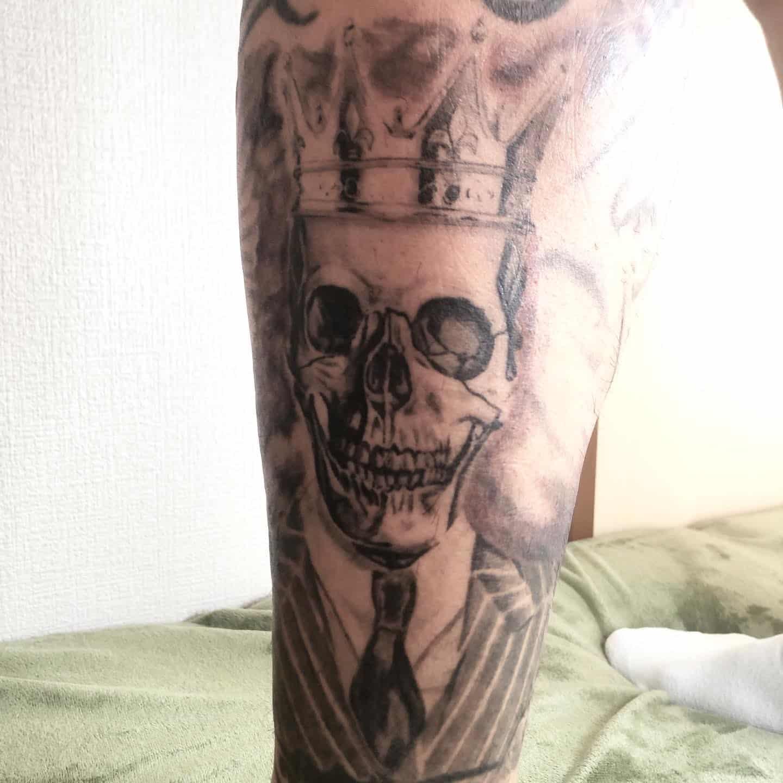 yukimaru-tattoo-leg-bonehead