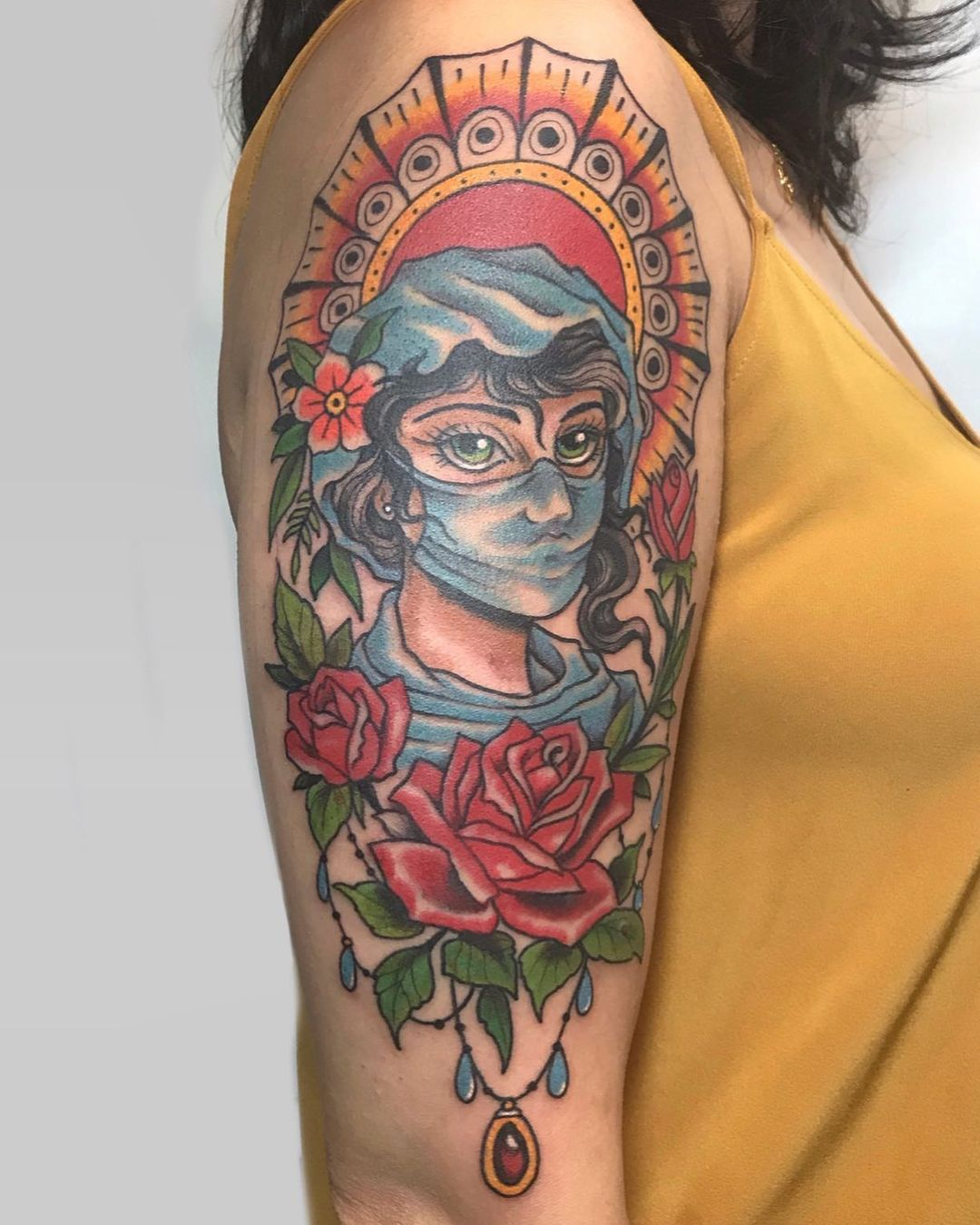 covid-tattoo-doctor-nurse