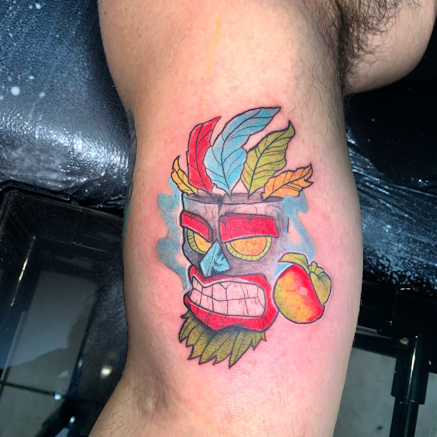 domencre-tattoo-artist-tiki-mask