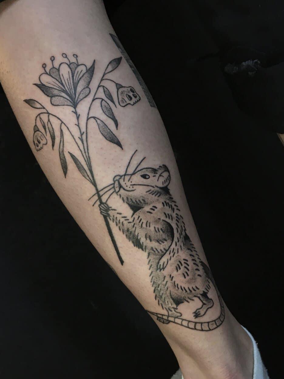 francisca-lopez-tattoo-artist-chile-rat