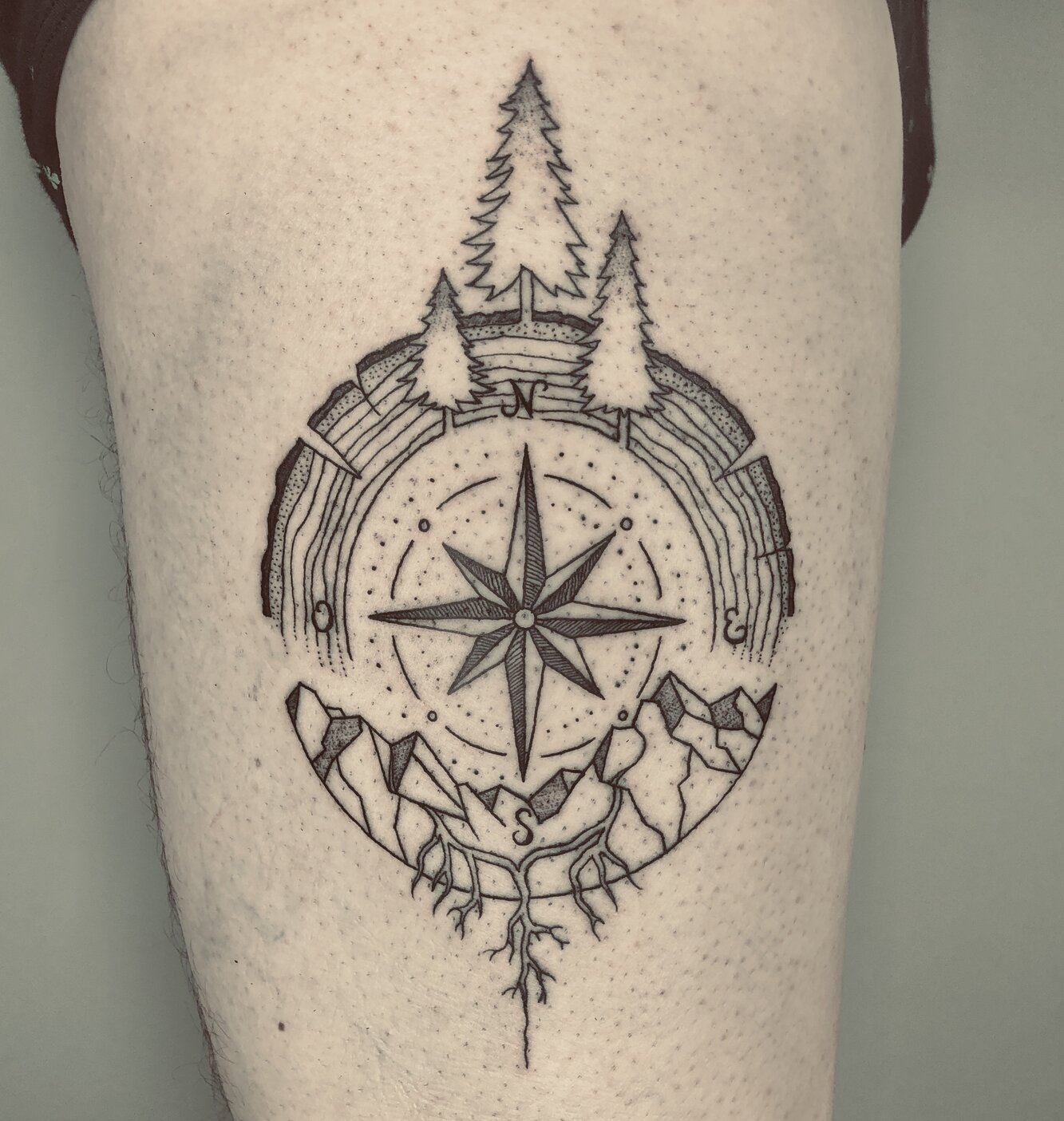 giufalia-tattoo-artist-compass-northstar