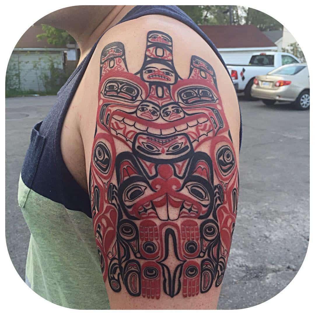 bear-and-beaver-haida-tattoo