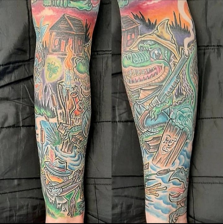 busta-boltoon-tattoo-artist-colorful-crocodrile