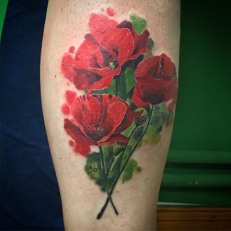 gui-art-work-tattoo-studio-flowers-color-arm