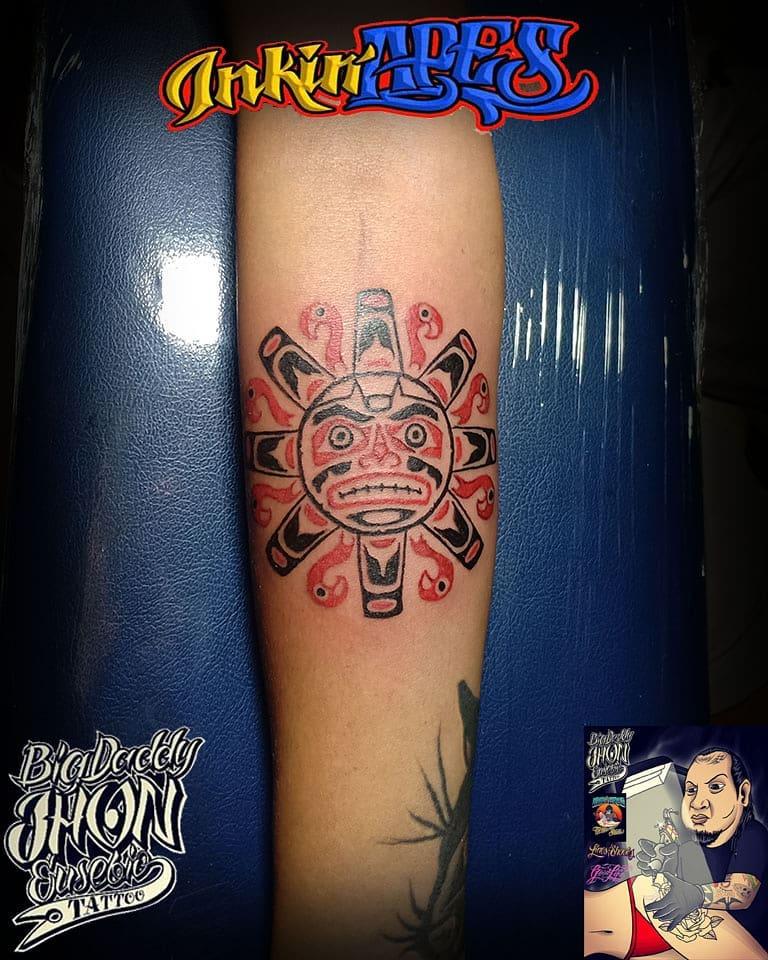haida-tattoo-sun