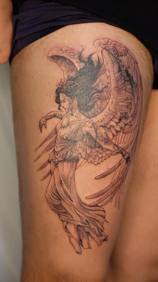 jo-ink-tattoo-artist-angel-arm