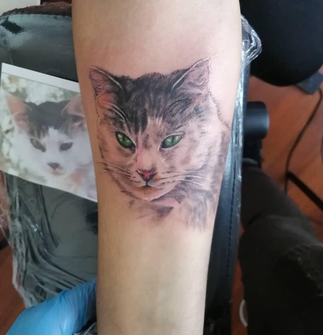 juliana-fuenzalida-tattoo-artist-cat