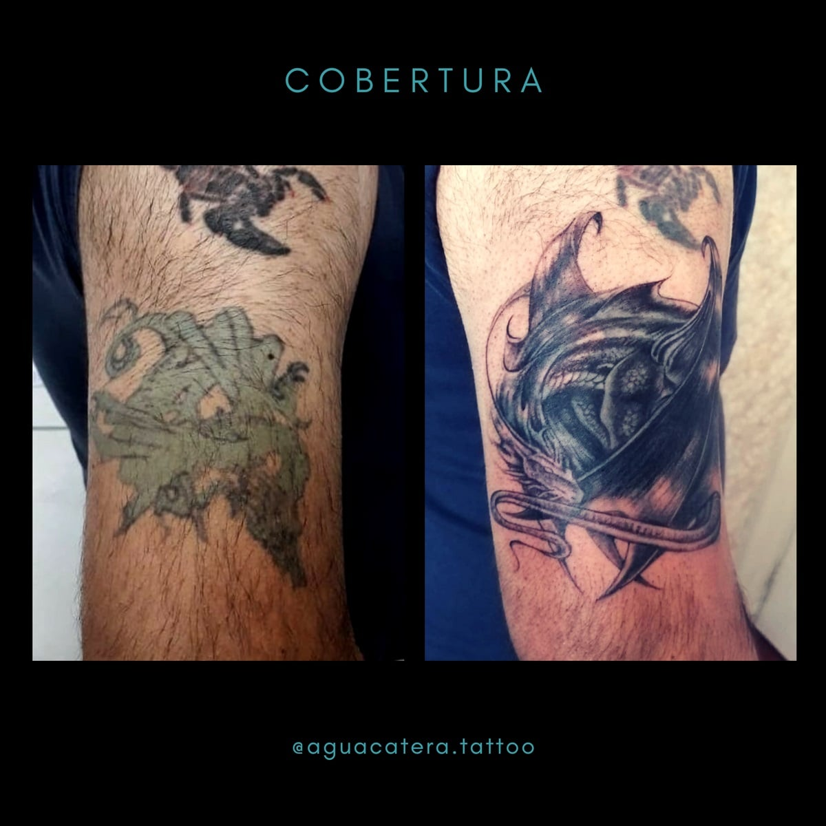 juliana-fuenzalida-tattoo-artist-cover-up-arm-black