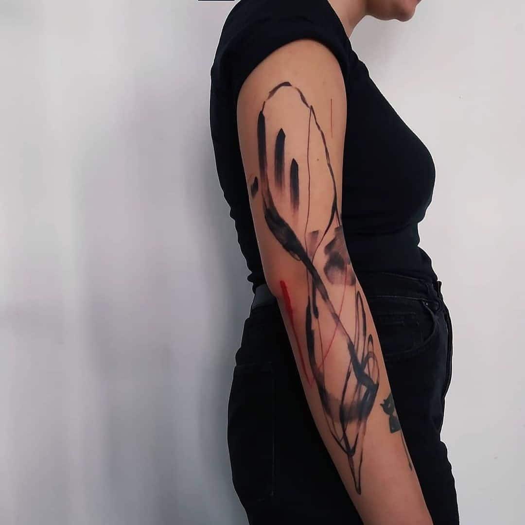 tattoo-ideas-for-women-abstract-tattoo