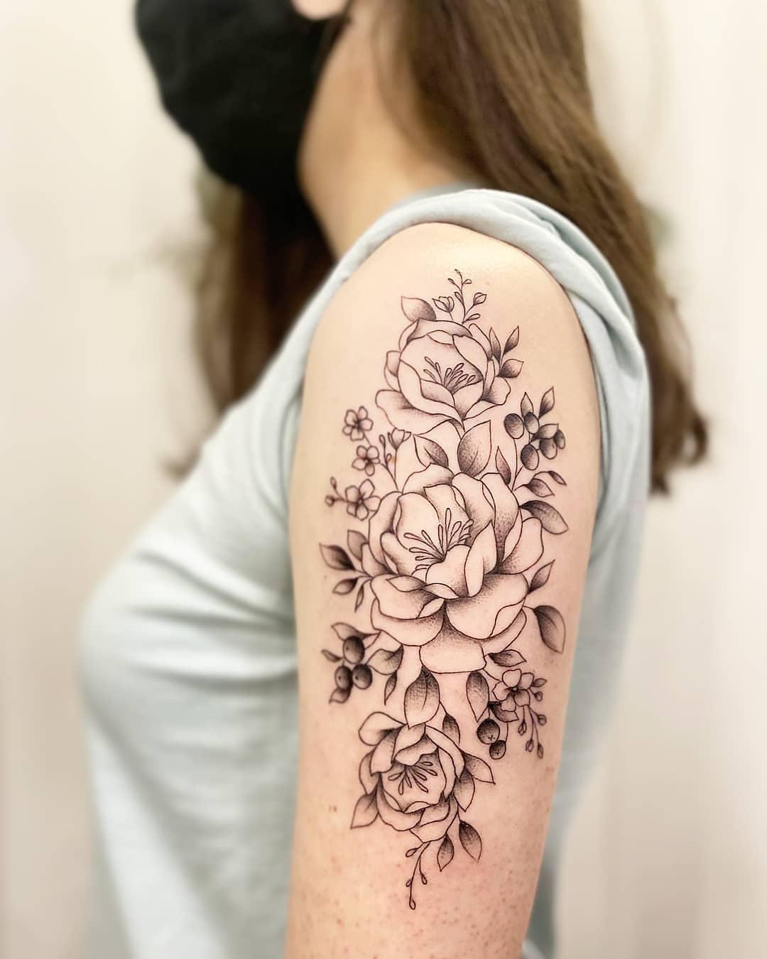 tattoo-ideas-for-women-peonies