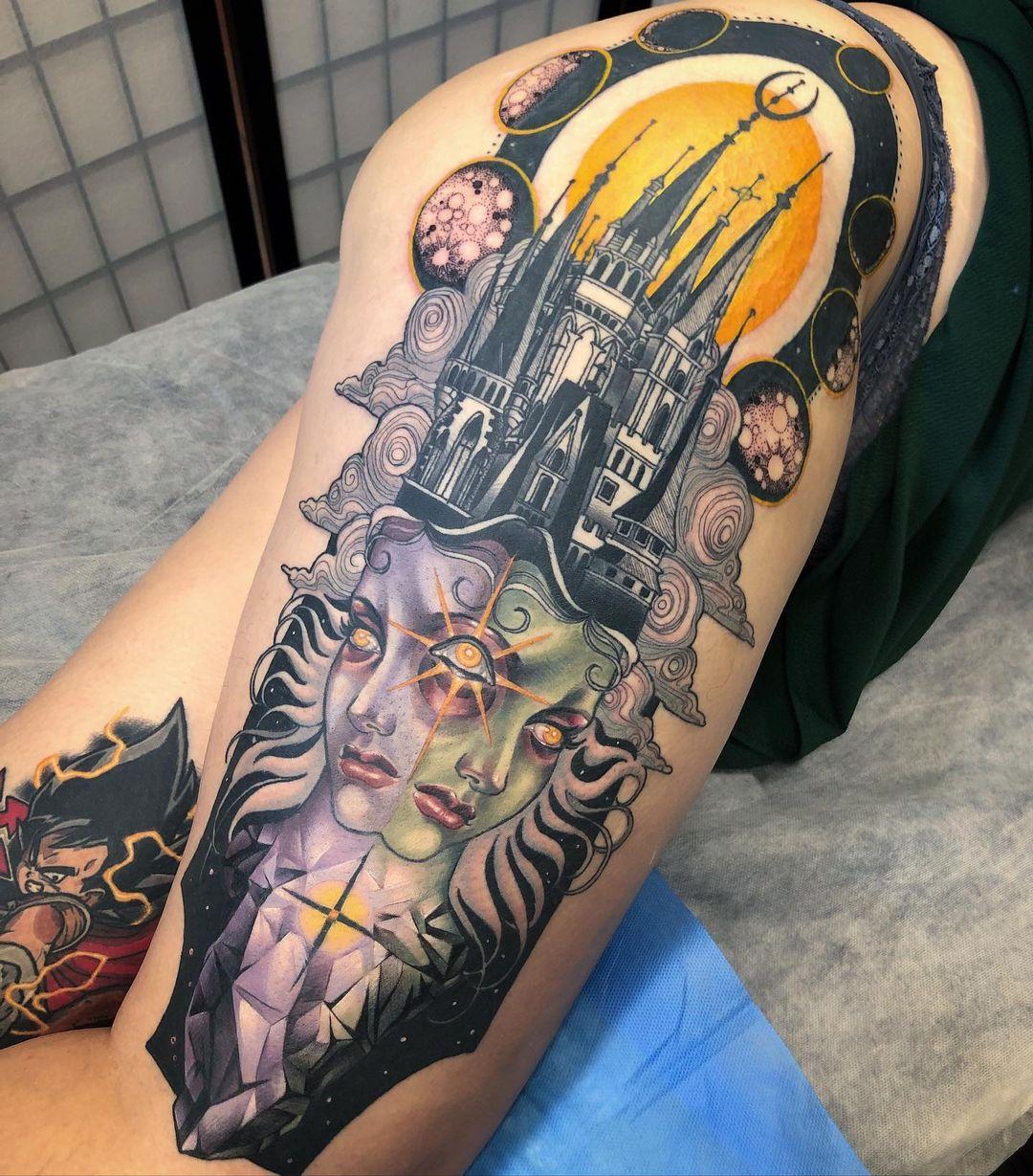 tattoo ideas for women realistic fantasy