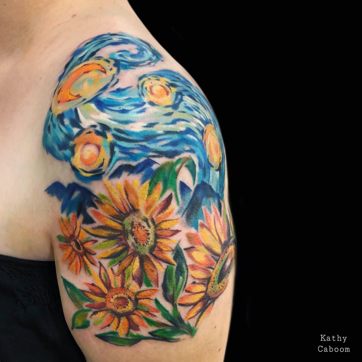kathycaboom-tattoo-artist-impresionist-paint