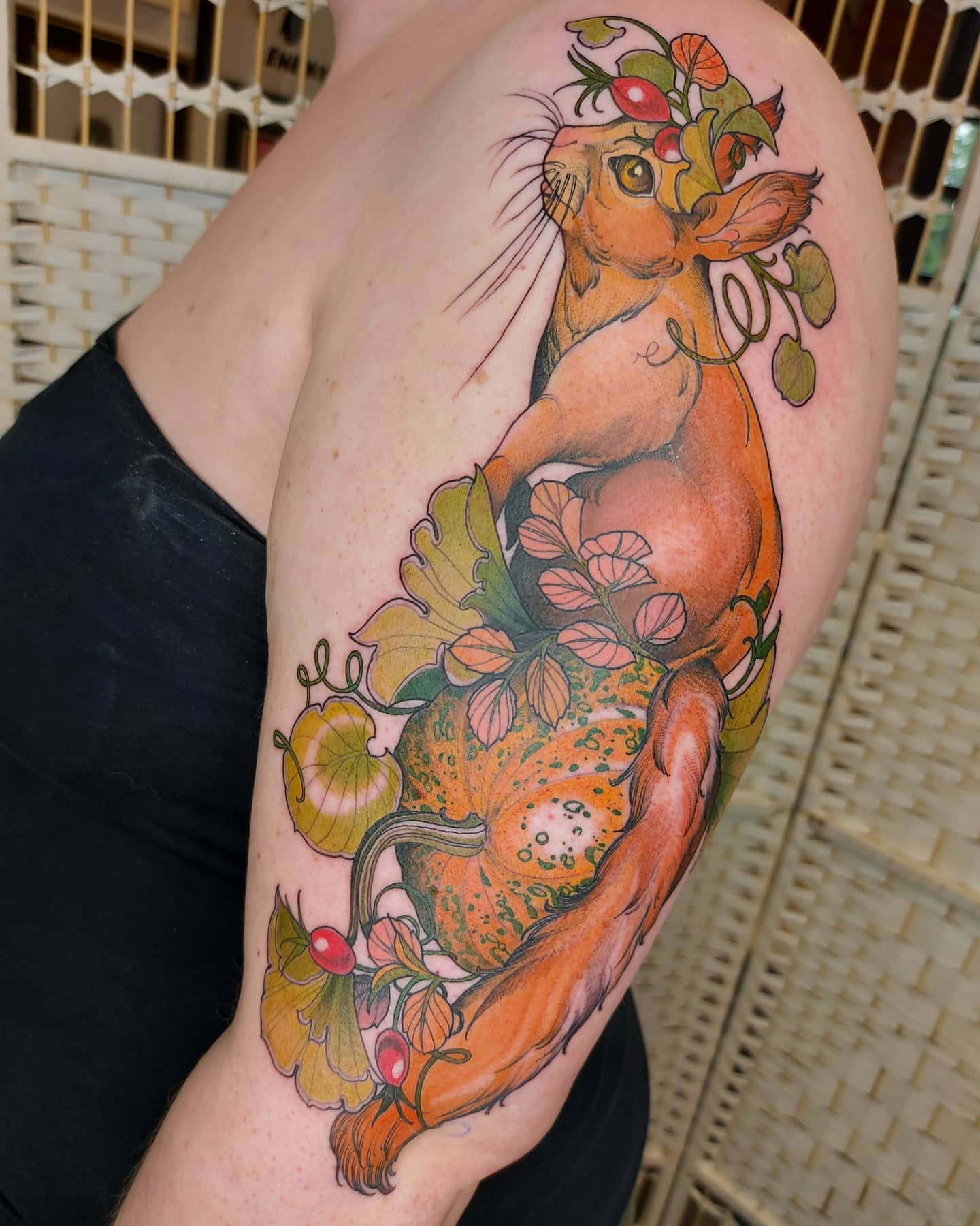 lucy-o-connell-tattoo-artist-squirrel-arm