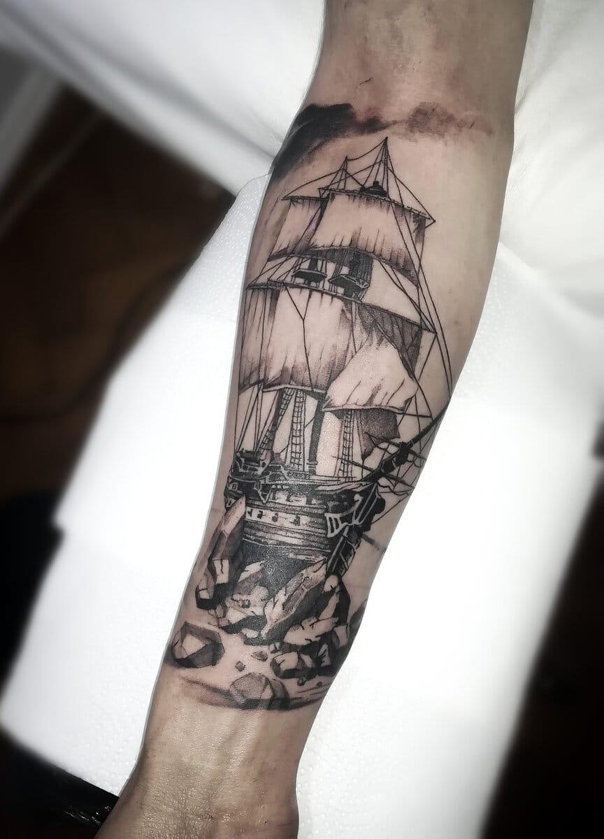 patricia-ortega-lilith-tattoo-artist-ship-arm