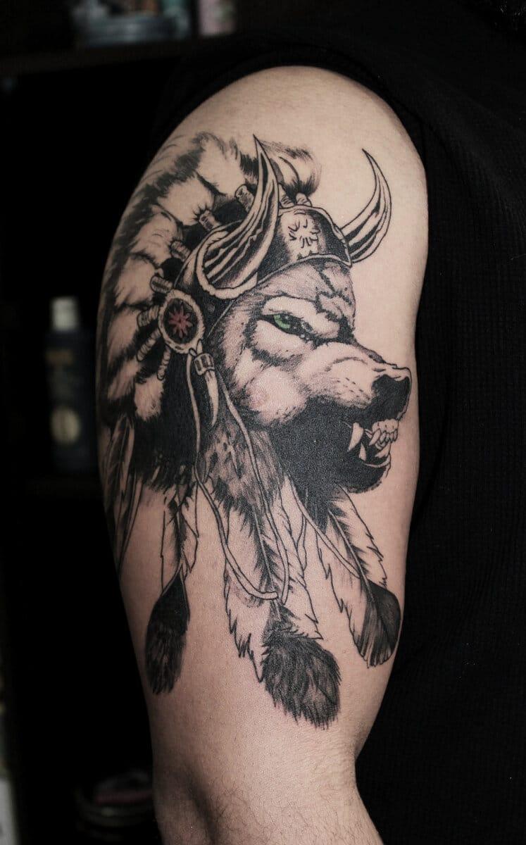 patricia-ortega-lilith-tattoo-viking-wolf