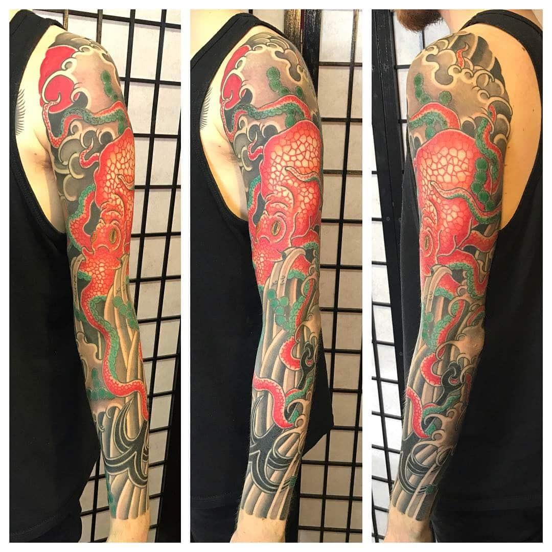 japanese-akkorokamui-tattoo-sleeve
