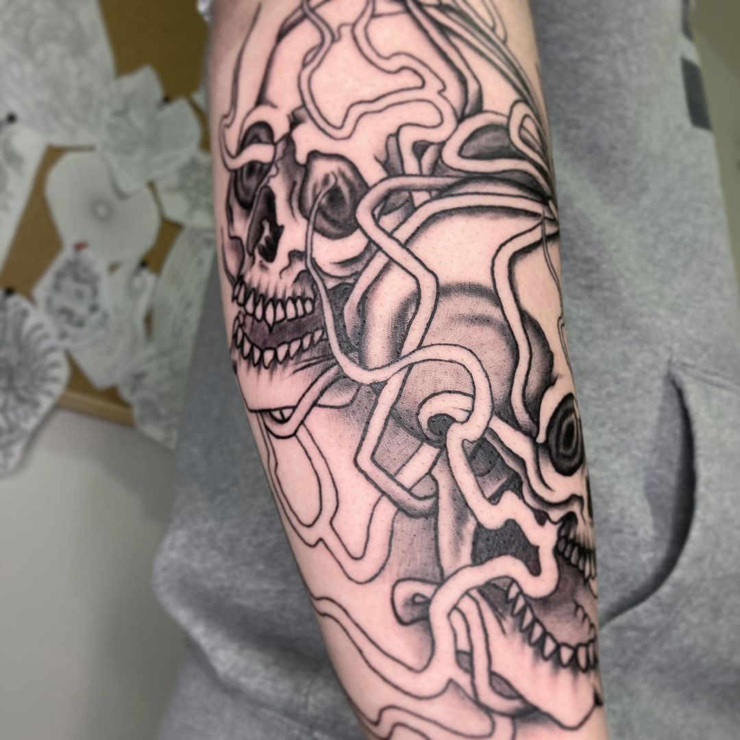 japanese-skull-tattoo-arm