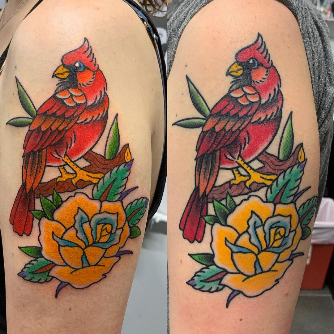 tattoo-aftercare-bird-healed-fresh