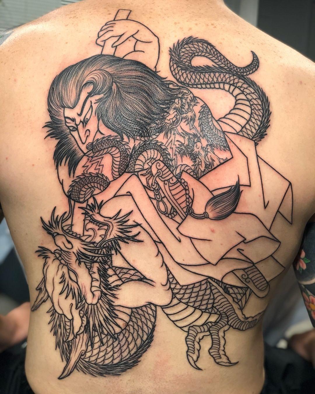 traditional-samurai-tattoo-japan