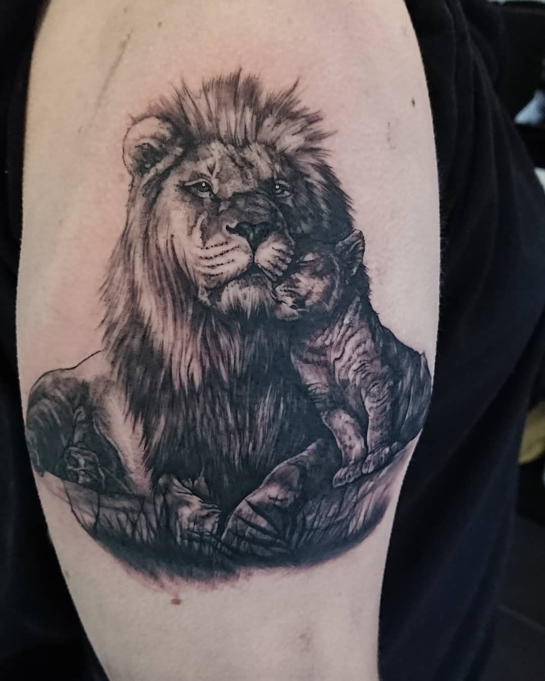 ali-baugh-cardiff-tattoo-lion