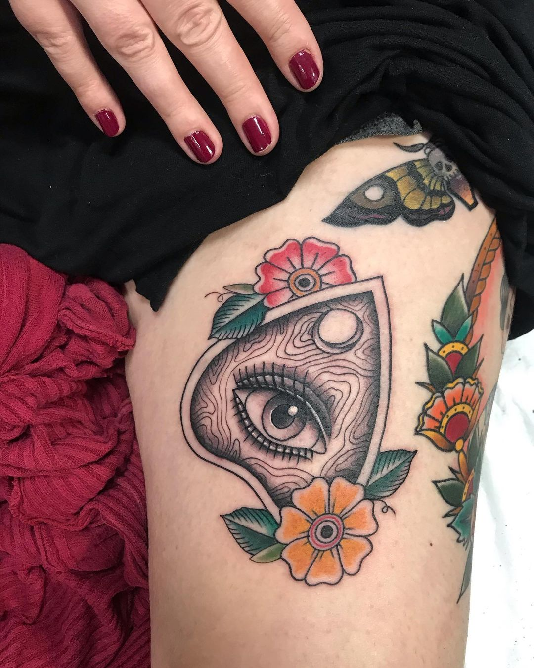 bianca uyttenhoven johannesburg tattoo artist eye