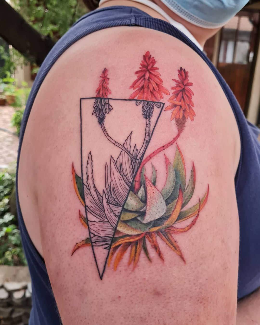 candice van niekerk johannesburg tattoo artist flora