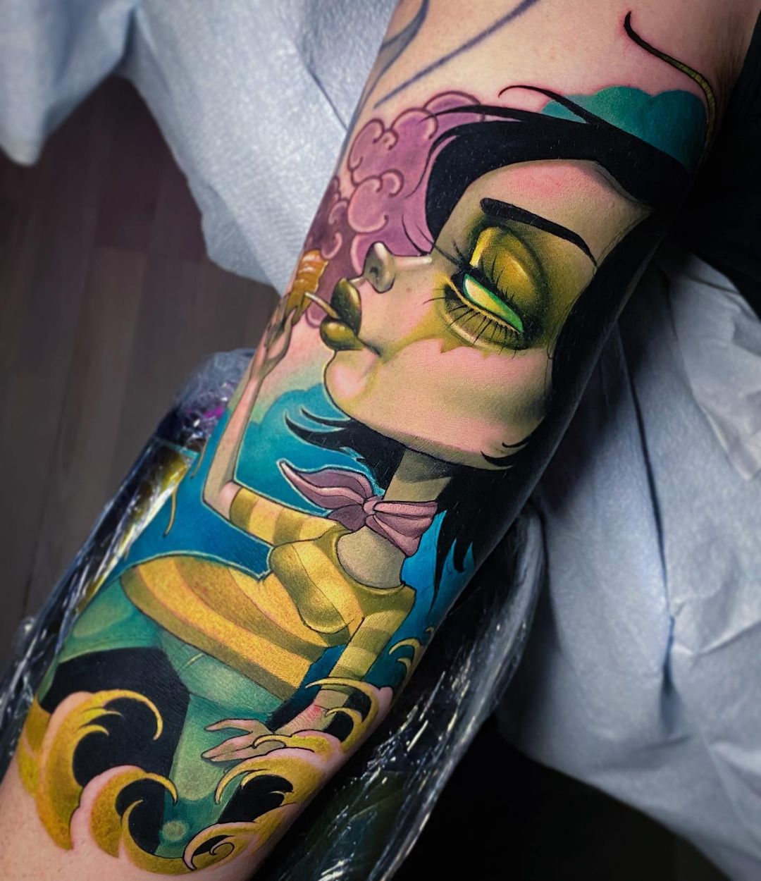 kelly-doty-tattoo-artist-arm-illustration-tattoo