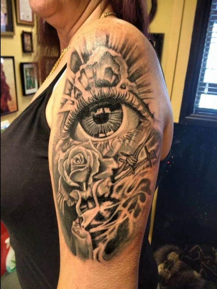 meg-cherrybom-tattoo-cardiff-eye