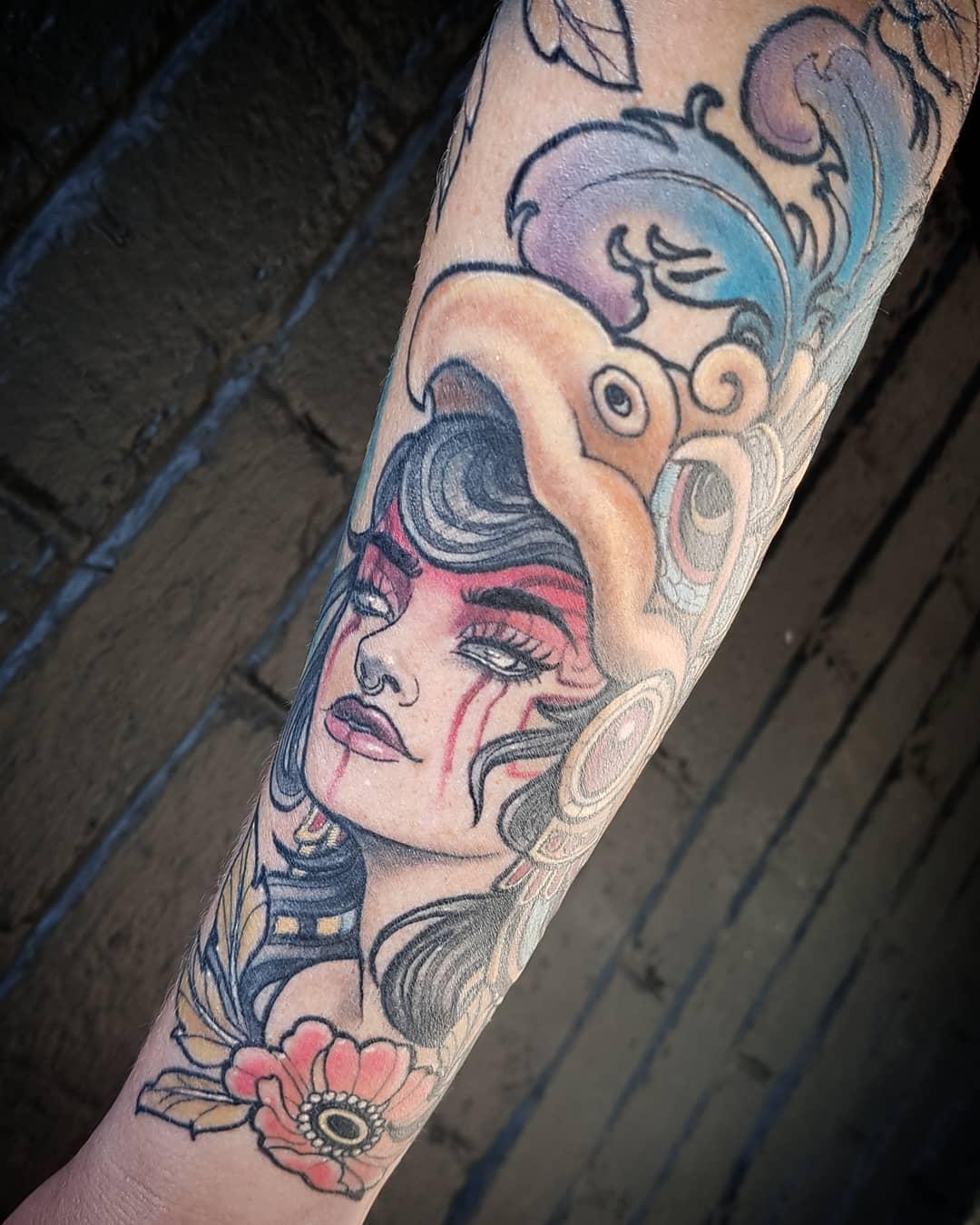 rocio-todisco-johannesburg-tattoo-artist-arm-sleeve