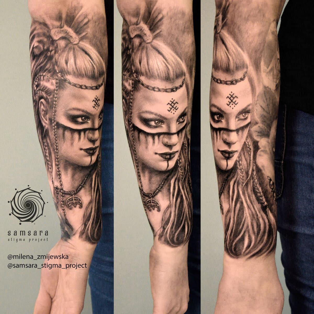 milena-zmijewska-tattoo-artist-szamanka